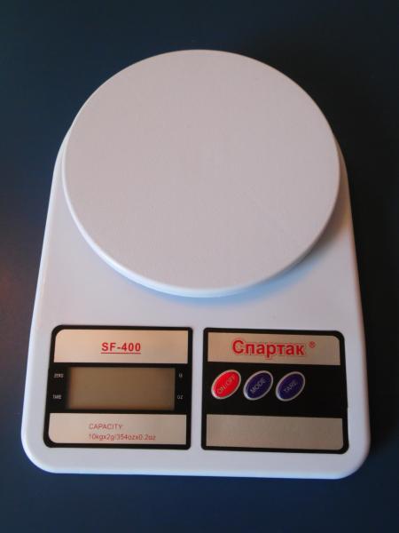 Кухонные весы СПАРТАК SF-400 (10кг)