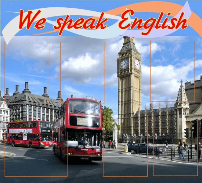 Стенд в кабинет английского языка