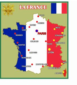 Фото 4.. Стенды для школ Стенд в кабинет французского языка