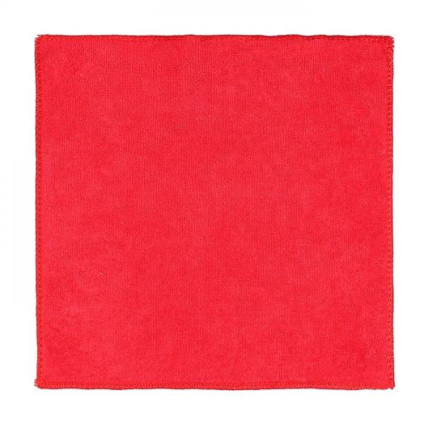 """Полотенце сувенирное """"Collorista"""" в новогоднем золотом шаре, красное 30х30 см, микрофибра 1108918"""