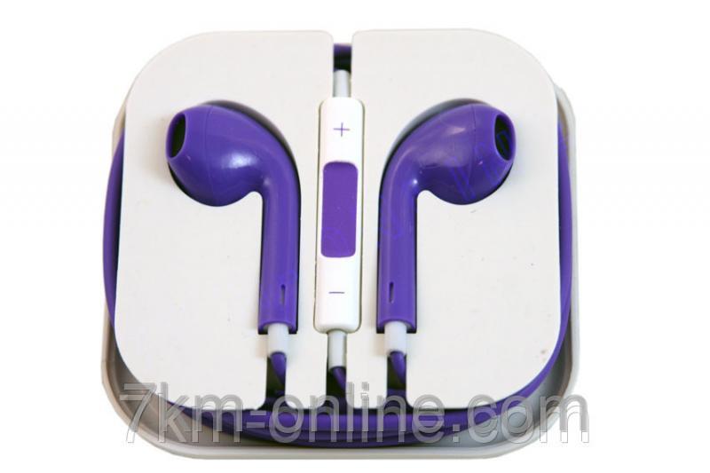 Наушники Apple iPhone 5 Фиолетовые