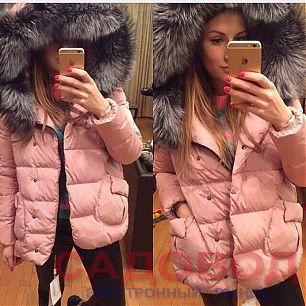 Женские зимние куртки из искусственного меха новые фото