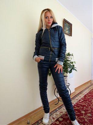 "Дутый спортивный костюм с капюшоном ""Nike"" RyАГ107"