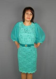 Фото Женская одежда, Нарядные платья Модель 173-4 / платье