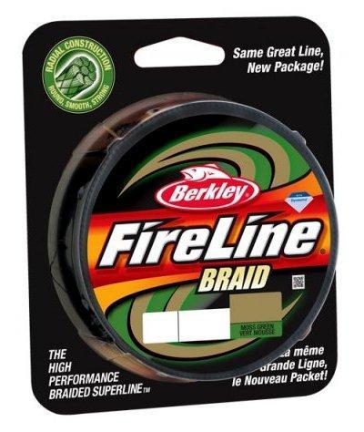 Шнур Berkley FireLine Braid MOSS GREEN NEW