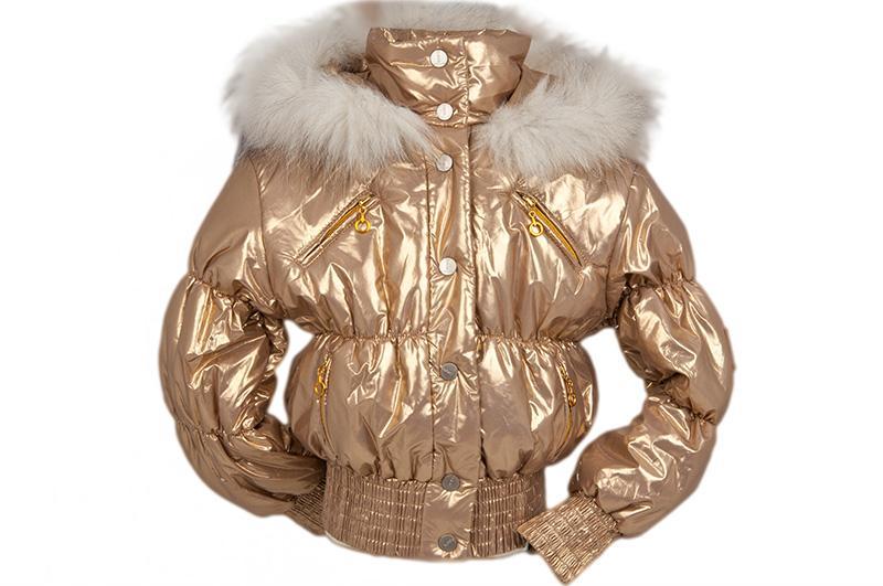 """Куртка """"SELENA"""" (3/4г - 10/11л) 92449(2)золото"""