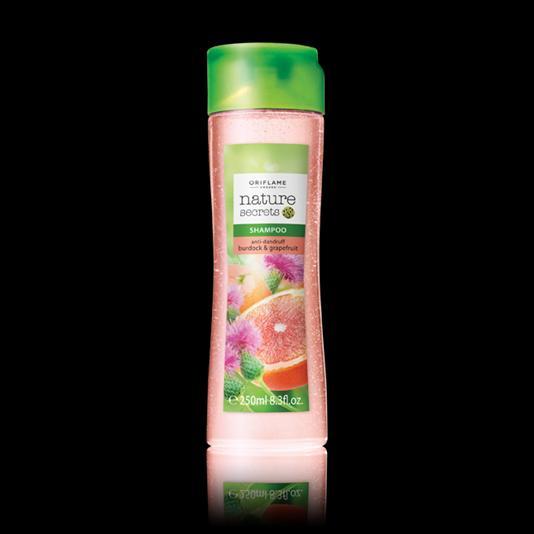 (22694)Шампунь против перхоти «Репейник и грейпфрут»