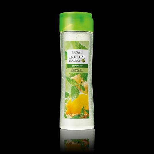 (22701)Шампунь для жирных волос «Крапива и лимон»