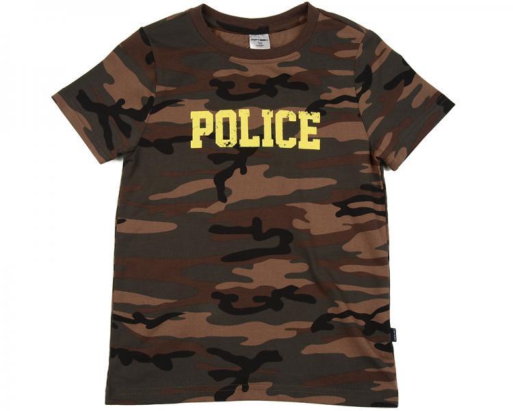 """Футболка """"Police"""" (122-146см) UD 0867(5)камуфляж"""