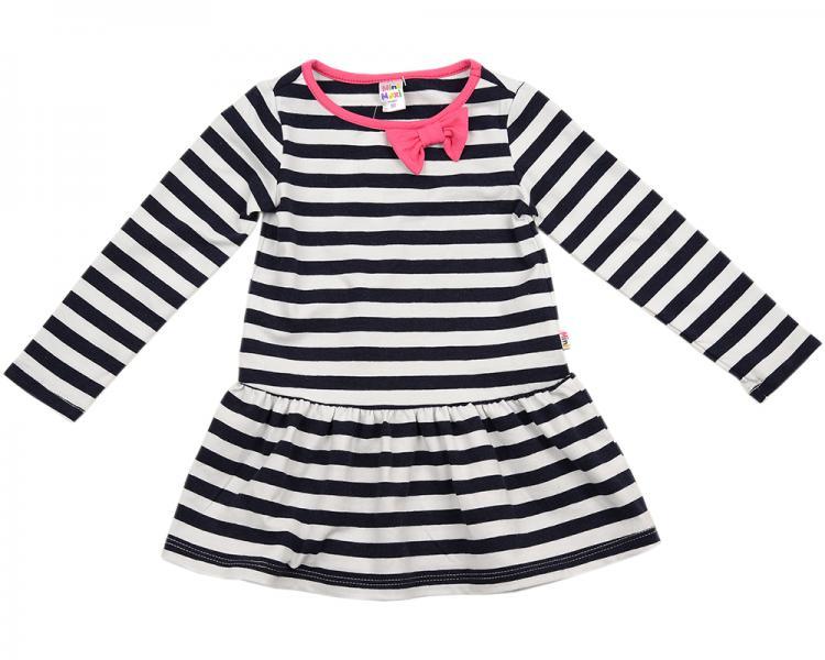 Платье с бантиком (80-92см) UD 0914(1)полоска