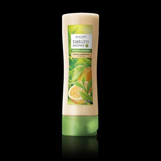 (31234)Кондиционер-объем для тонких волос «Зеленый чай и бергамот»