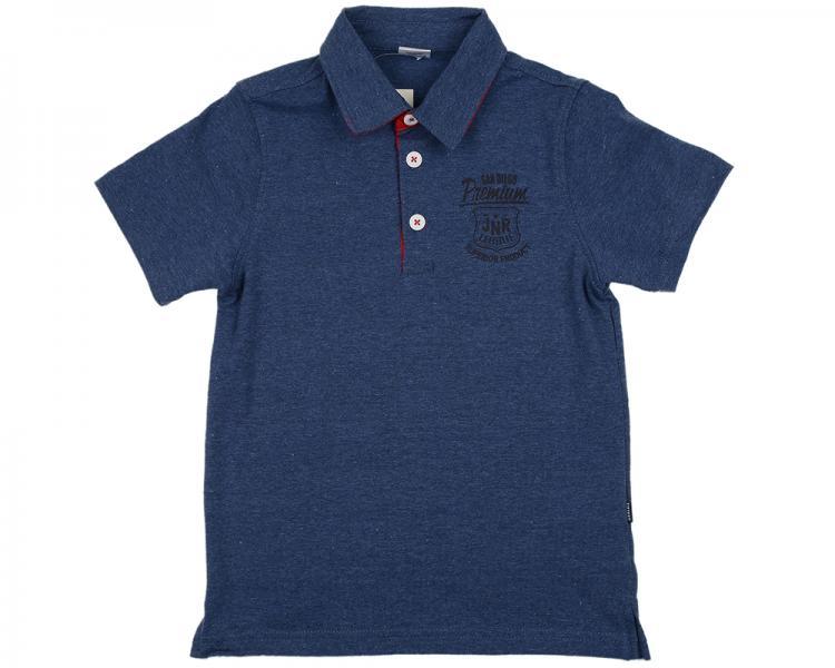 Рубашка-поло (122-146см) UD 0700(3)синий