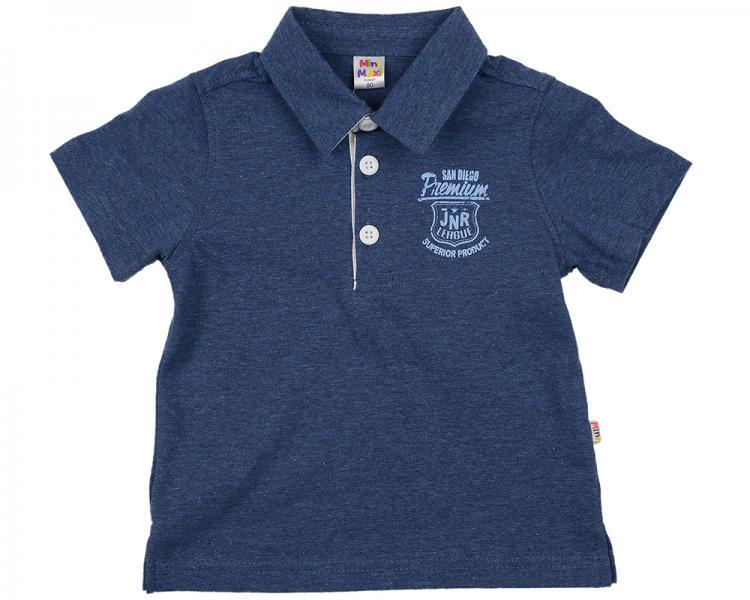 Рубашка-поло (80-92см) UD 0700(1)синий