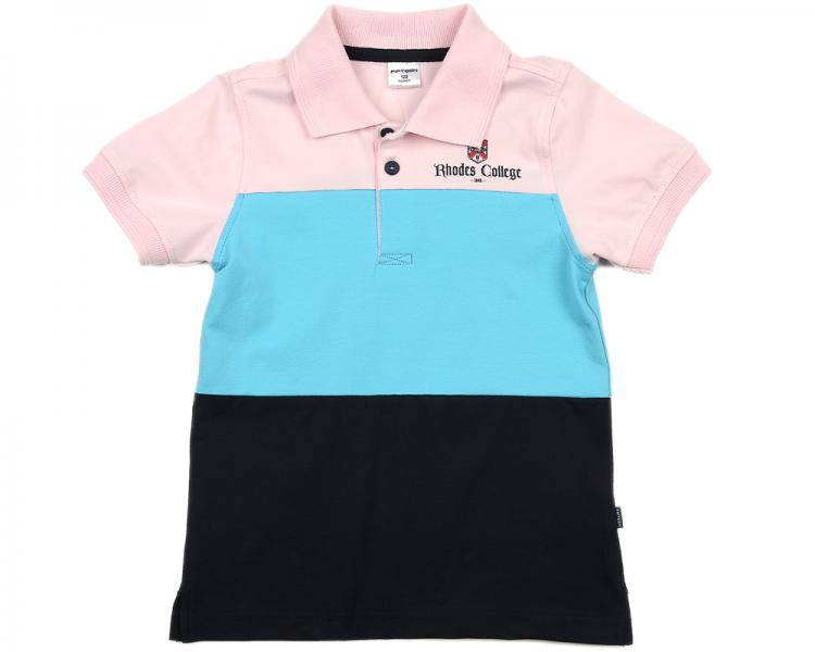 Рубашка-поло триколор (122-146см) UD 0678(2)