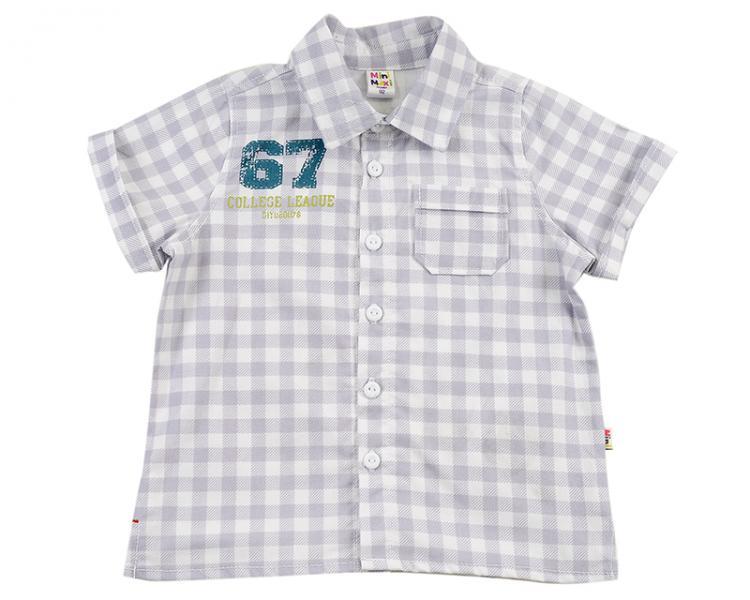 Рубашка в клетку (92-116см) UD 0409(1)клетка