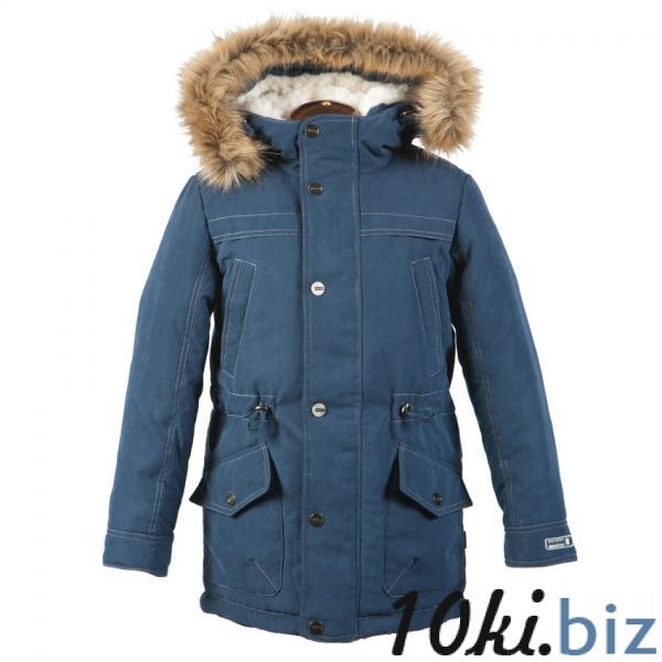Парка на меху для мальчика 4з0815 Куртки зимние, пуховики для мальчиков на рынке Люблино