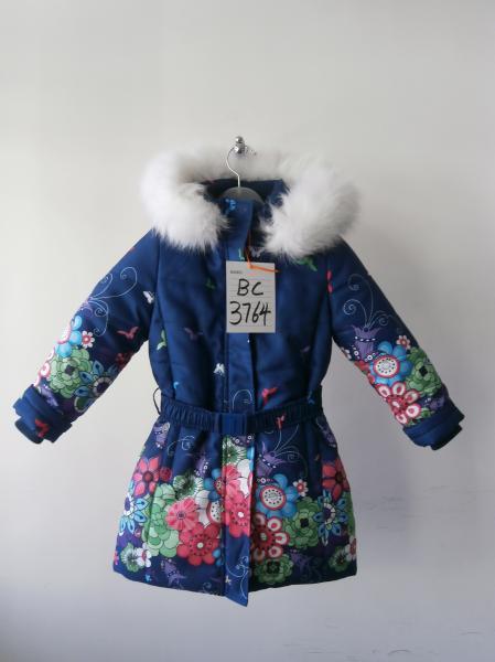 Пальто девочки Kiko 3764