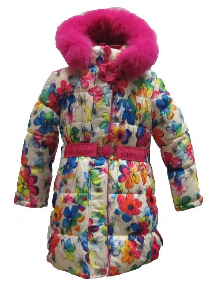 Пальто девочки Kiko 3704
