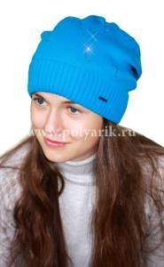 Фото Зима, От 10 до 16 лет Шапка подростковая (ФЛИС- подклад) - Артикул DH-032 - Производитель