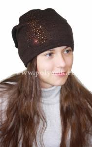 Фото Зима, От 10 до 16 лет Шапка подростковая (ФЛИС- подклад) - Артикул DH-029 - Производитель