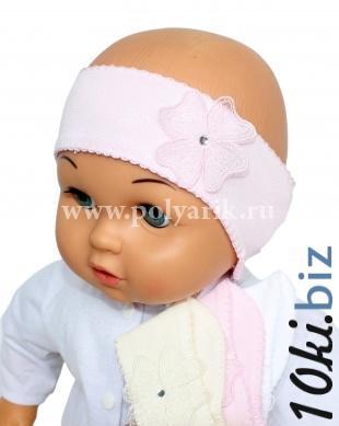 Повязка (Польша) - Артикул 8-02 - Производитель BeBe-Mar Головные уборы для новорожденных в России