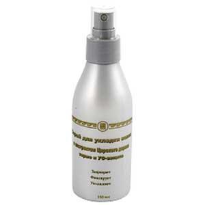 Спрей для укладки волос с экстрактом царского дерева