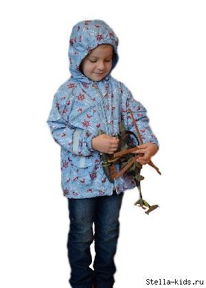 Ветровка для мальчика М-209