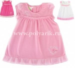 Фото Детский трикотаж , Для девочек Платье (Польша) - Артикул 1049 - Производитель