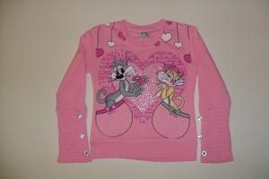 Фото Детская одежда 1-5 лет, Толстовки для девочек толстовка-кошки