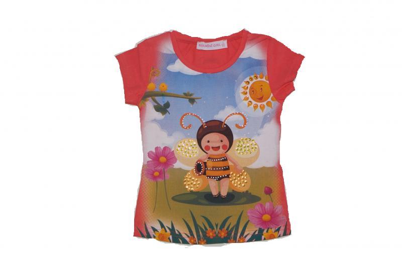 футболка девочка5119