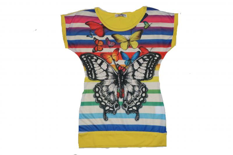 футболка девочка6144