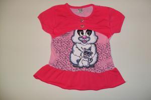 Фото Детская одежда 1-5 лет, Футболки для девочек  футболка-3319