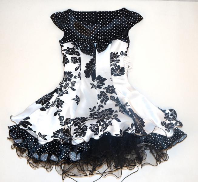 платье для девочек атлас
