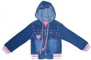 Фото Джинсы джинсовая куртка для девочек
