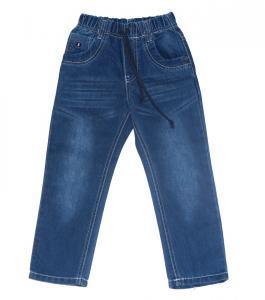 Фото Джинсы джинсовые брюки для мальчика