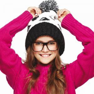 Фото Подростковая линия, Осень-Зима 2015/16, Девочки ШАПКА СМАЙЛ/40451