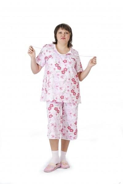 Пижама с капрями 58-66