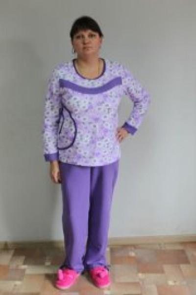 Пижама с брюками 58-66