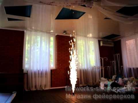 Фото Профессиональная Пиротехника и оборудование, Концертная (Сценическая) пиротехника. MF00-105 фонтан серебро 2м 20 с