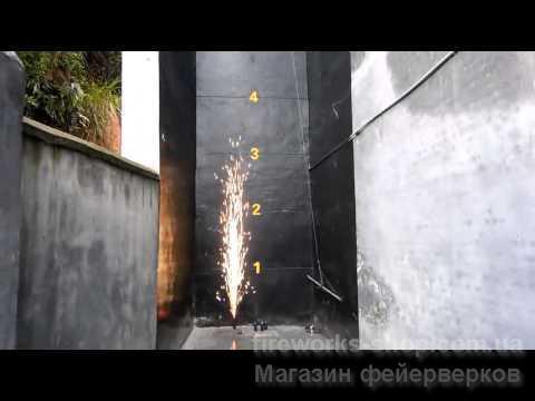 Фото Профессиональная Пиротехника и оборудование, Концертная (Сценическая) пиротехника. MF00-106 фонтан серебро 3м 50 с
