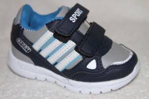 Фото Спортивная обувь, Кроссовки Кроссовки А083-1 синий