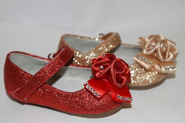 Туфли 968-2 red gold
