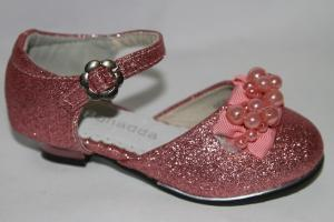 Фото Туфли, Праздничные туфли для девочек, до 32 Туфли 955-6А розовый