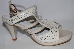 Фото Туфли, Праздничные туфли для девочек, до 38 Босоножки Н38-Е39 APRICOT