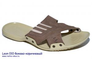 Фото Ростовская мужская обувь, Кожаные тапки Обувь мужская LN 010bk