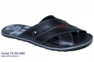 Фото Ростовская мужская обувь, Кожаные тапки Обувь мужская YU 72-03-680