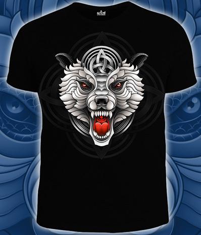 WOLF (Светится в темноте и ультрафиолете)