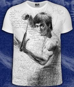 Фото Футболки мужские короткий рукав Bruce Lee