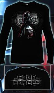 Фото Футболки мужские длинный рукав Darth Vader (Светится в темноте и ультрафиолете)