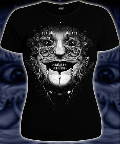 3D Клоун (Светится в темноте и ультрафиолете)